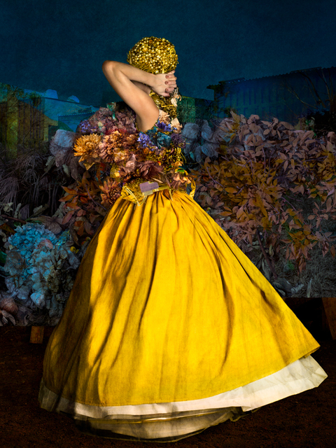 , 'The Yellow Skirt,' 2017, Christian Larsen