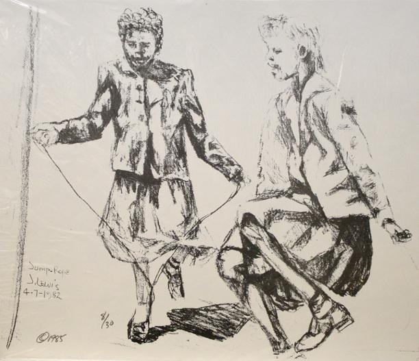 , 'Jump-Rope,' 1982, The Loft Fine Art