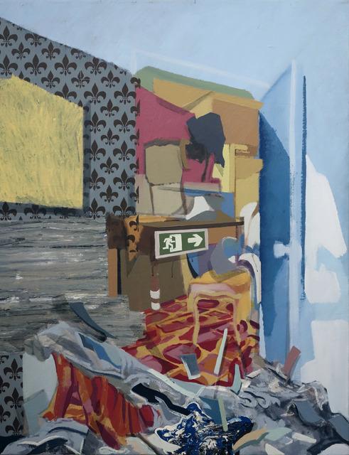 , 'Salida de emergencia,' 2009, Artig Gallery