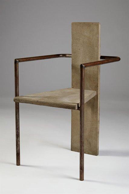 , 'Armchair,' 1981, Modernity