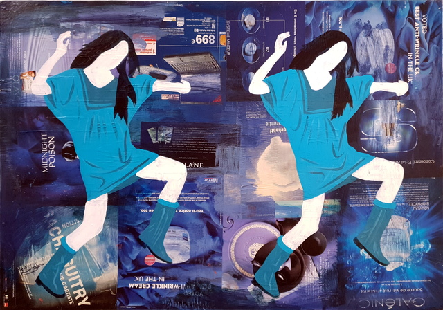 , 'Collage,' 2017, Contemporary Art Platform Kuwait