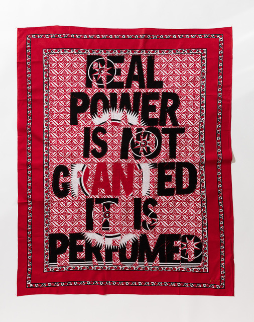 , 'Real Power is not granted,' 2017, Afronova
