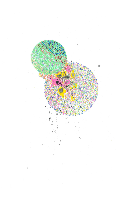 , 'explosions #22,' 2017-2018, Burnet Fine Art & Advisory