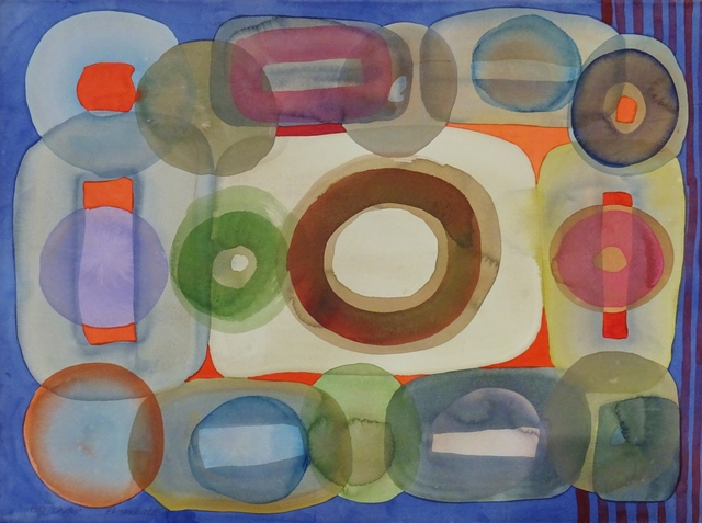 , 'Circles,' 1968, Lawrence Fine Art