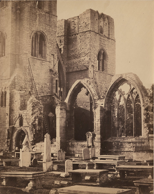 Francis Frith, 'Detached Windows and Towers, Elgin Cathedral', 1856/1857, Contemporary Works/Vintage Works