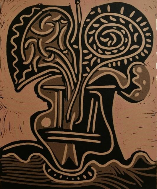 Pablo Picasso, 'Le Vase de fleurs', ca. 1980, ByNewArt