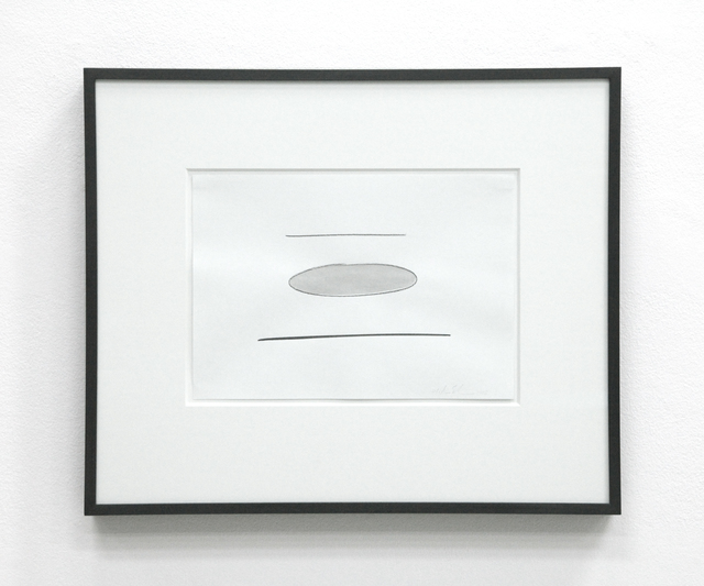 , 'Untitled (Tilted light and grey disks II),' 2008, i8 Gallery
