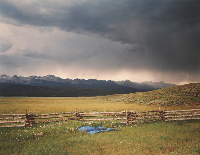 Laura McPhee, 'Irrigator's Tarp Directing Water, Fourth of July Creek Ranch, Custer County, Idaho', 2004, ClampArt