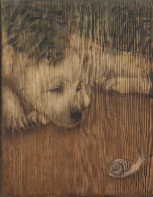 , 'Grain_Dog02,' 2016, Artflow
