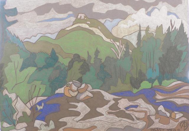 , 'Noonmark Mountain,' , Keene Arts