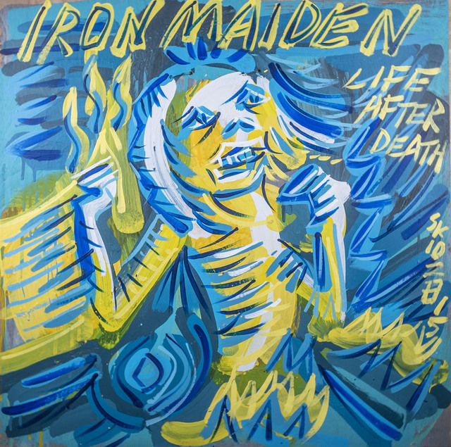 , 'Iron Maiden - Life After Death,' 2015, Subliminal Projects