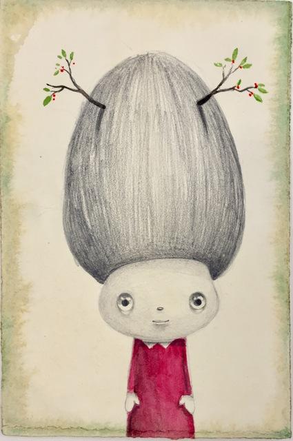 Javier Calleja, 'Nest hair', 2017, Galerie Zink