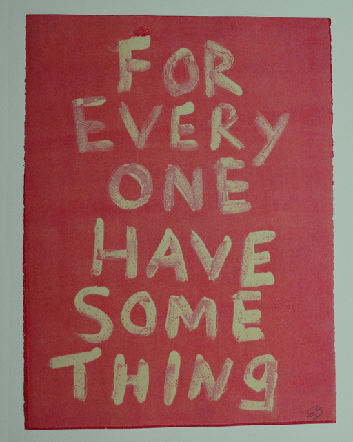Edgar Heap of Birds, 'FOR EVERYONE HAVE SOMETHING (GHOST 2)', 2019, Gallery Fritz