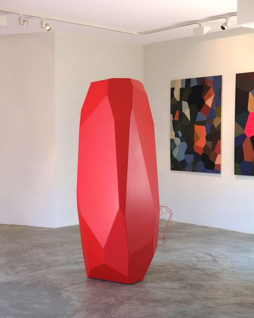 , 'Rock Stone 198 Red,' 2014, Pékin Fine Arts
