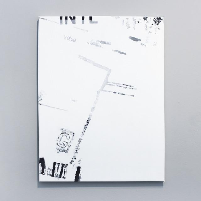 , 'Pasaporte detail (blurred),' 2014, Josée Bienvenu