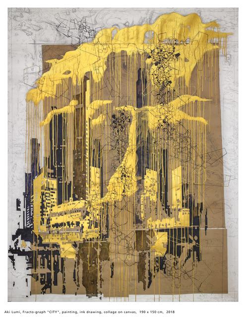 , 'Fracto-graph CITY,' 2018, Vanguard Gallery