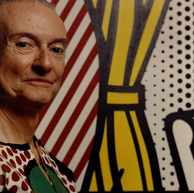 , 'Roy Lichtenstein,' 1993, CAMERA WORK