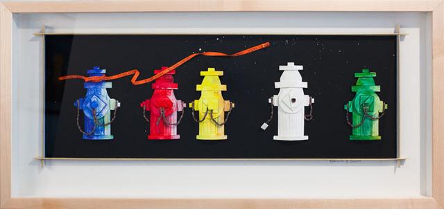 Katharine Owens, 'Five Fire Hydrants ', 2012, Zenith Gallery