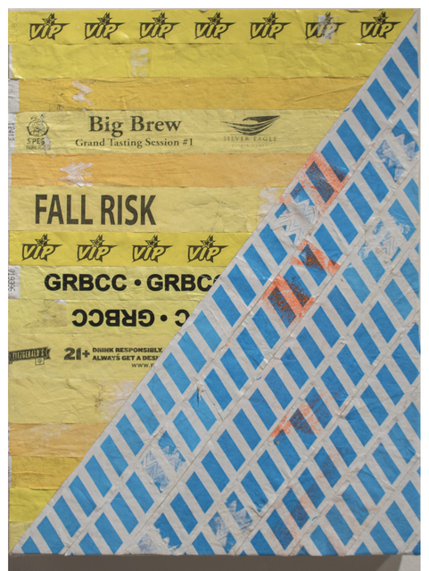 , 'Wristband Quilt (Fall Risk),' 2016, Cardoza Fine Art