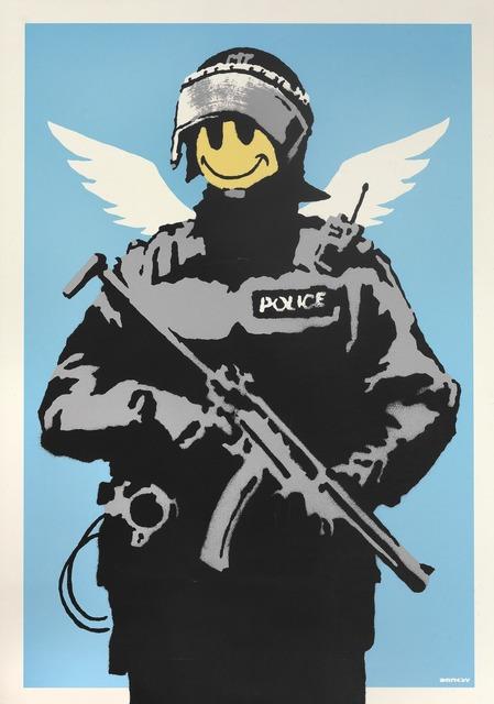 Banksy, 'Flying Copper', 2003, Bruun Rasmussen