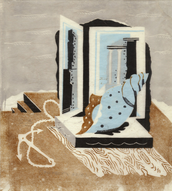 , 'Still Life with Anchor and Shell,' ca. 1930, Redfern Gallery Ltd.