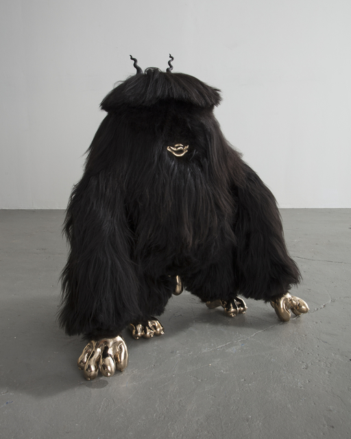 , 'Johnny Squattin' Furry,' 2016, Rhona Hoffman Gallery