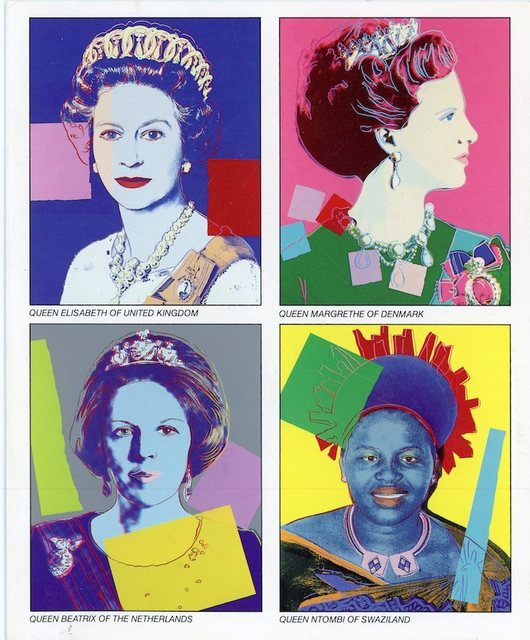 , 'Castelli Uptown, Andy Warhol, Reigning Queens 1985, Folded Card,' 1985, James Fuentes