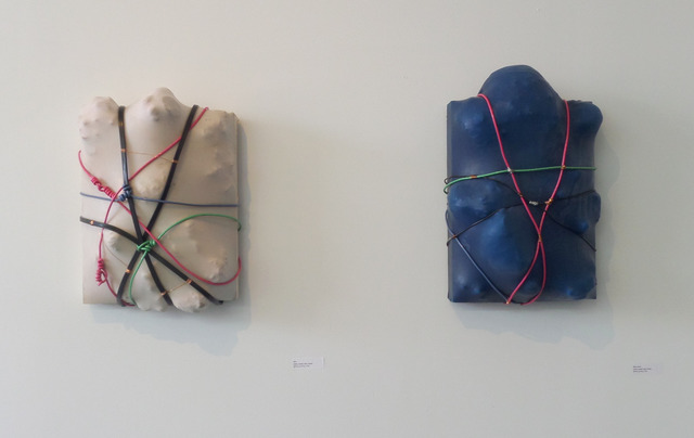 , 'Skin and Blue Latex,' , Amos Eno Gallery
