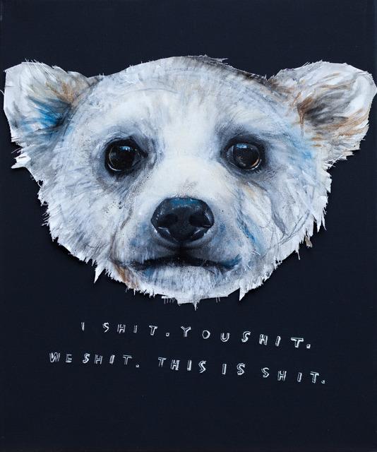 , 'I Shit,' 2013, MUCA