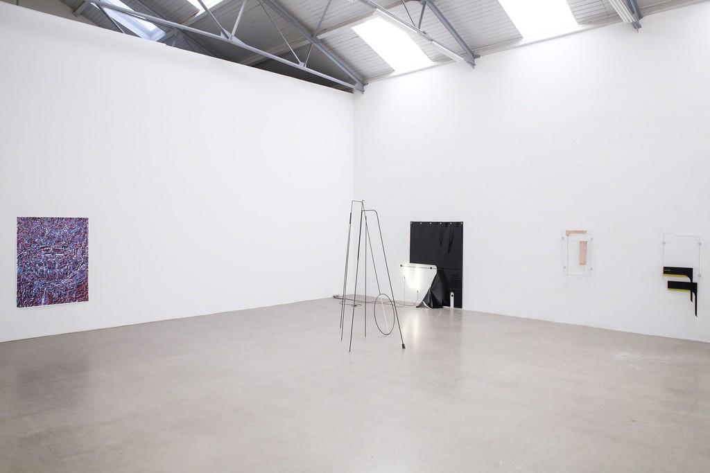 Exhibition view, 2018 courtesy Galerie EIGEN + ART Photo: Stefan Schacher, Leipzig