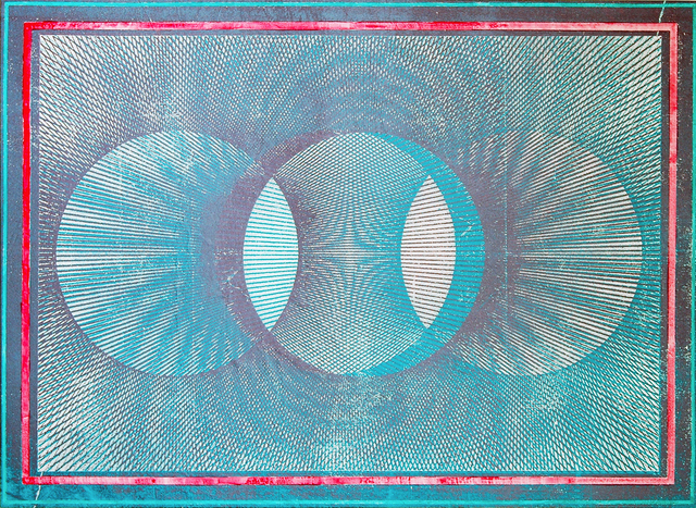 Gwenaël Rattke, 'Projections II (green & pink)', 2012, Painting, Acrylic and silkscreen on canvas, Romer Young Gallery
