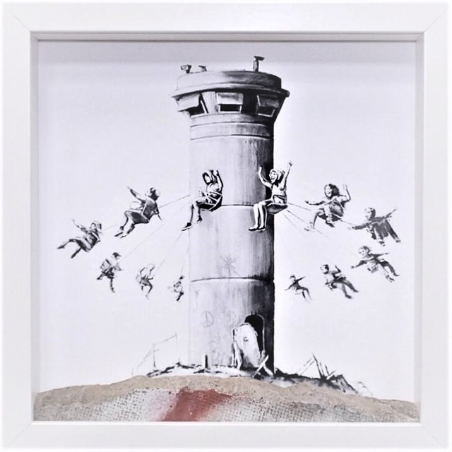Banksy, 'Walled off ', 2018, AYNAC Gallery