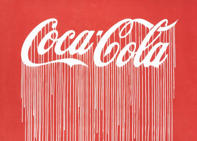 Zevs, 'Liquidated Coca-Cola', 2012, Tate Ward Auctions