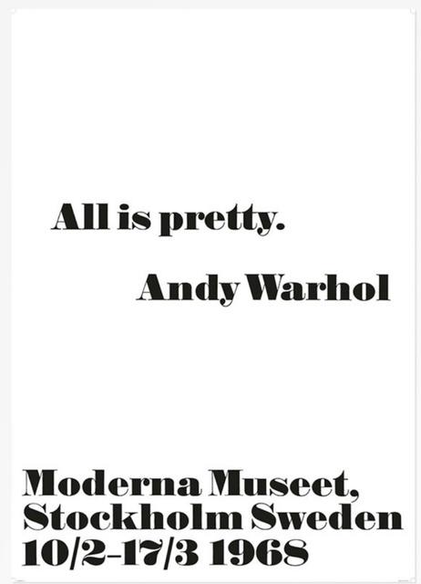 Andy Warhol, 'All is Pretty', 2014, Alpha 137 Gallery