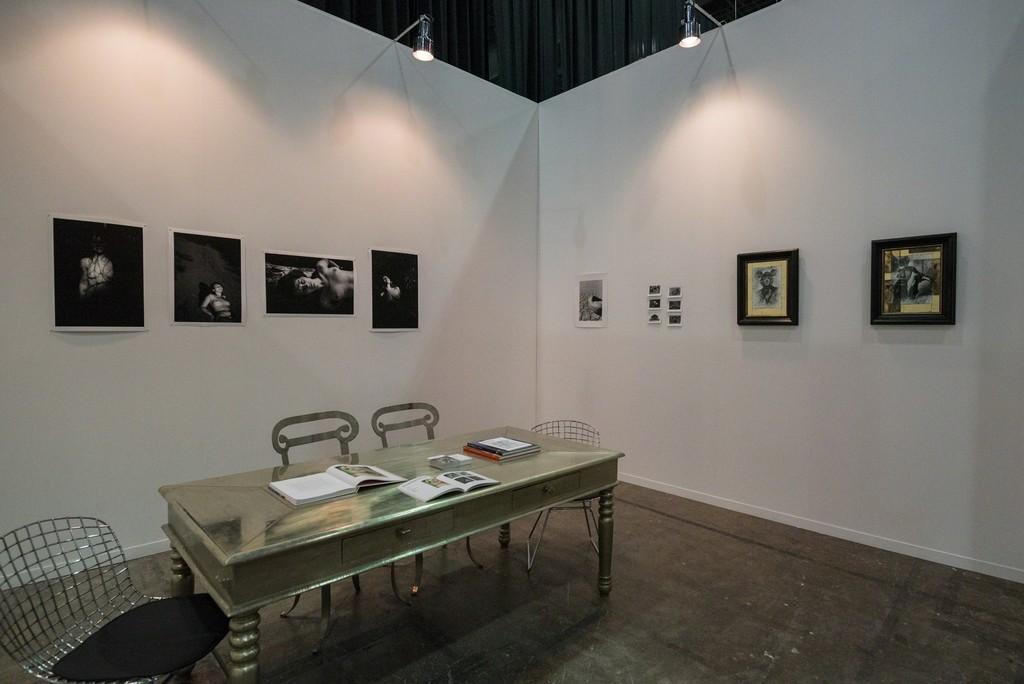 Salamatina Gallery Booth D105 at  ZⓢONAMACO FOTO 2016 artists: Serge Romanov, Nikolai Khizhniak, Olga Perevalova