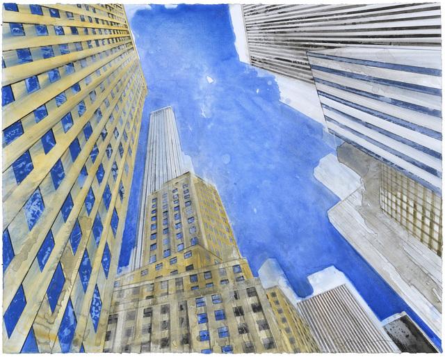, 'New York d'en bas I,' 2017, Galerie Arcturus