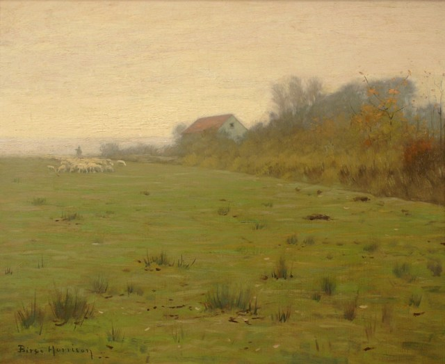 Lovell Birge Harrison, 'Woodstock Farm', ca. 1910, Private Collection, NY