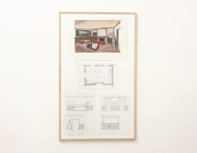 , 'Project for a Nazi Living Room,' 2012, Galerie Micheline Szwajcer