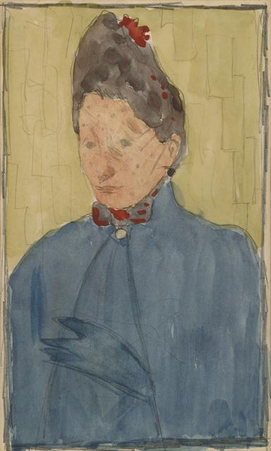 , 'Madame Eugene Bonnard, mè re de l'artiste,' 1889, HDM Gallery