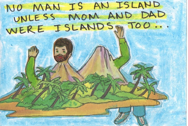, 'No Man Is An Island,' 2015-2016, Tillou Fine Art