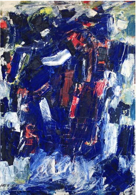, 'Untitled (57-07),' 1957, Berry Campbell Gallery