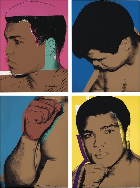 Andy Warhol, 'Muhammad Ali', 1979, michael lisi / contemporary art