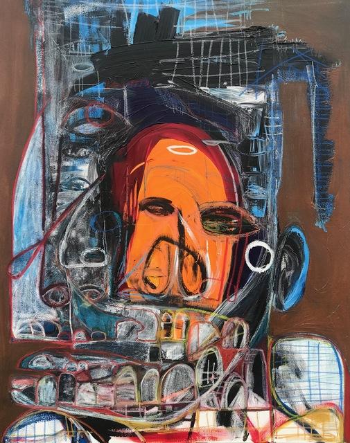 , 'Blue Passing,' 2019, Richard Beavers Gallery