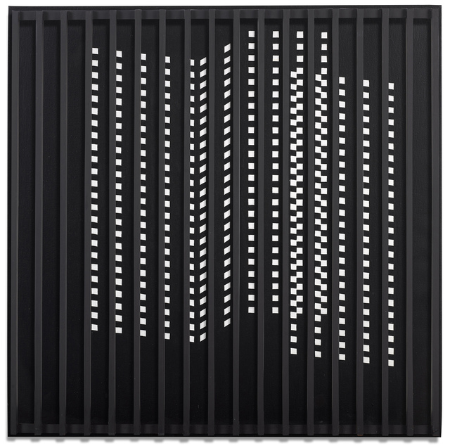 , 'Untitled (Black and White with Grid),' , Berry Campbell Gallery