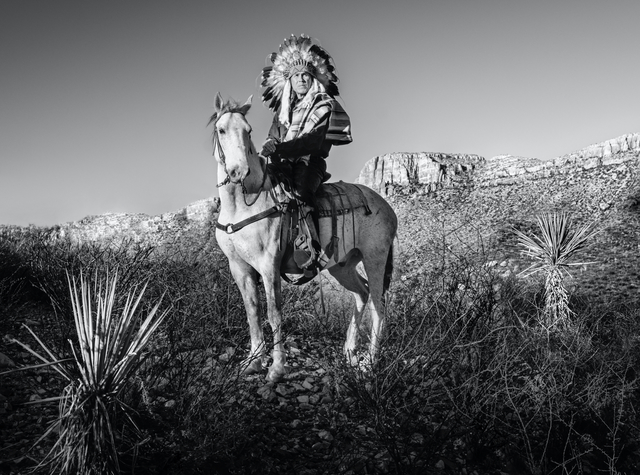 David Yarrow, 'Apache', 2021, Photography, Archival Pigment Print, Hilton Asmus