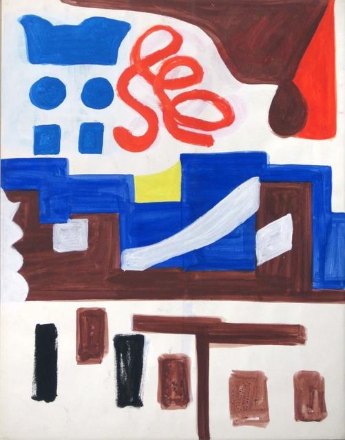 Shirley Jaffe, 'Untitled #49', Tibor de Nagy