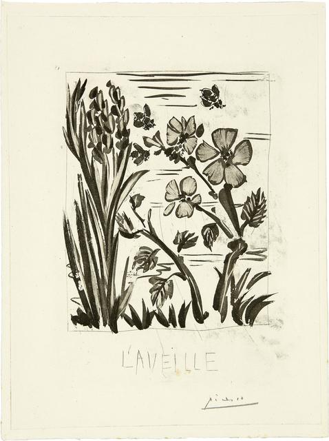 Pablo Picasso, 'L'Aveille', 1936-42, Galerie Jean-François Cazeau