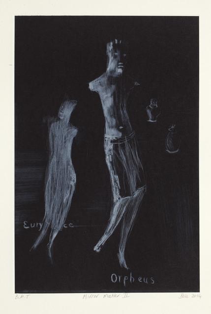 Deborah Bell, 'Mirror Matter II', 2014, Print, Drypoint on chine colle, David Krut Projects