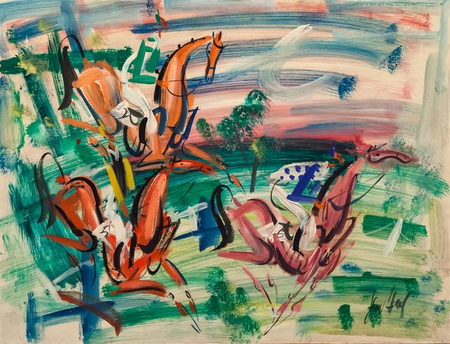 , 'Le grand Steeple-Chase de Paris,' ca. 1945, Artrust