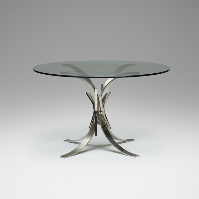 Maria Pergay, 'Gerbe Dining Table', c. 1970, Rago/Wright